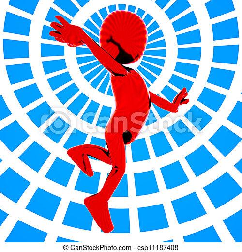 Jump for joy - csp11187408