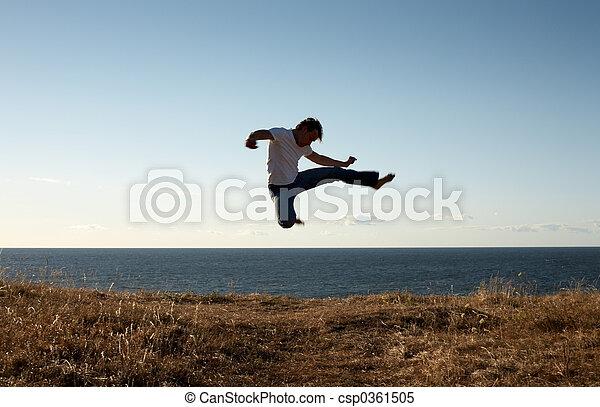 jump-kick - csp0361505