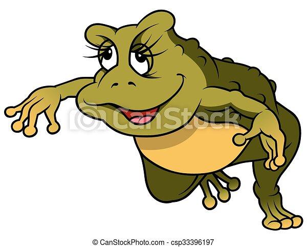 Jumping Frog - csp33396197