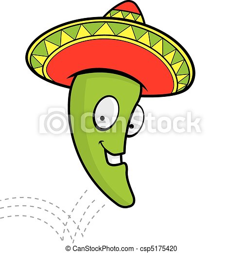 jumping jalapeno a cartoon smiling jalapeno with a vector rh canstockphoto com jalapeno clipart free red jalapeno clipart