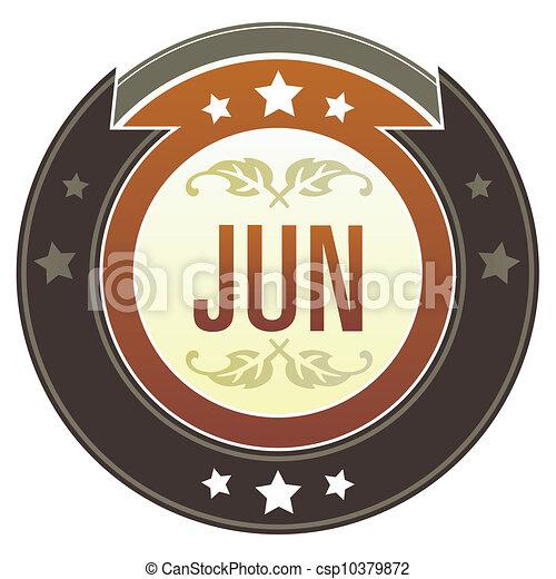 June imperial button - csp10379872