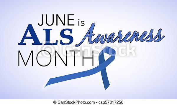 June is national ALS awareness month