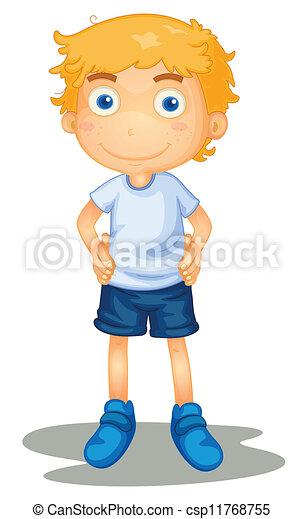 Ein Junge - csp11768755