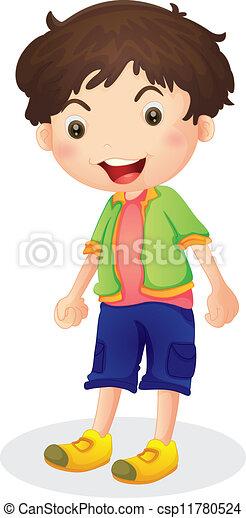 Ein Junge - csp11780524