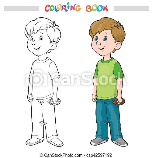 Ausgezeichnet Junge Person Färbung Seite Fotos ...