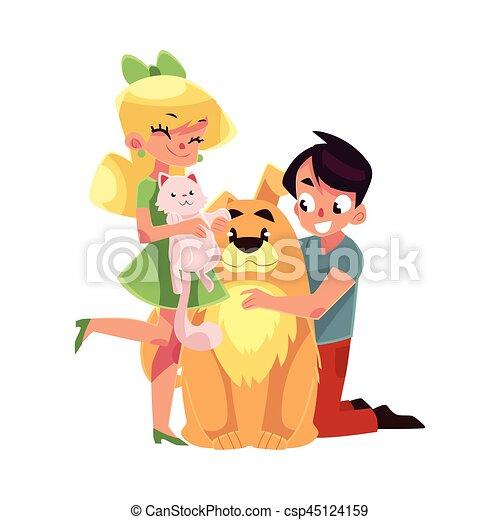 teen madchen mit zwei jungs