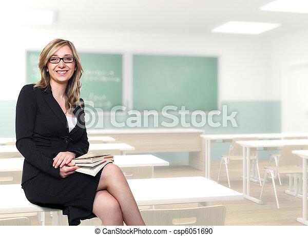 Junger Lehrer - csp6051690