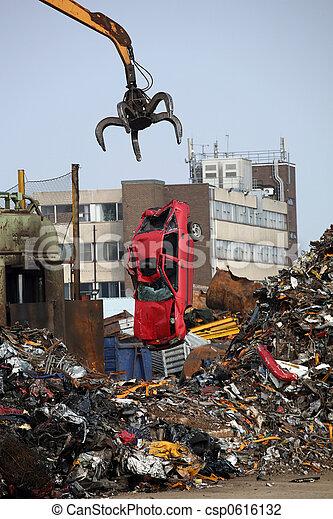 Junk Car - csp0616132