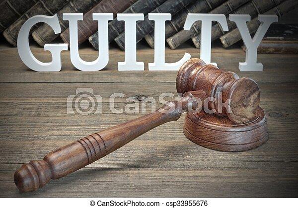 jury, concept, verdict - csp33955676