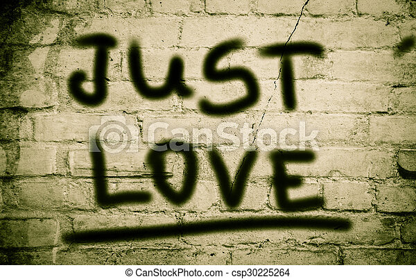 Just Love Concept - csp30225264