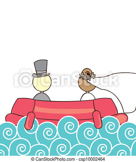 just married - csp10002464