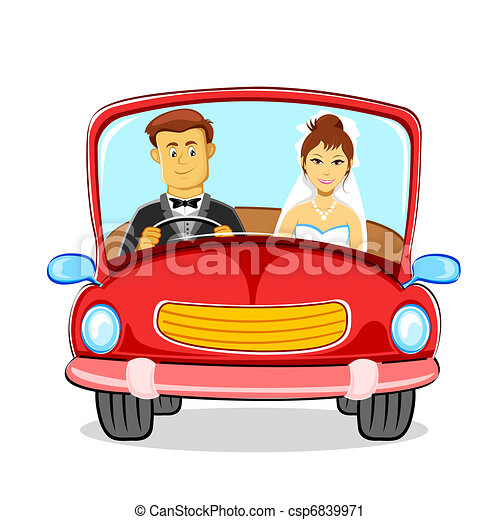 Just married Couple - csp6839971