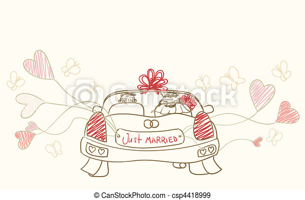 just married - csp4418999