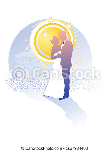 Just married - csp7934463