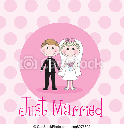 just married - csp8276802