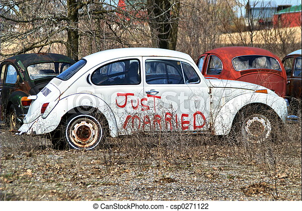 just married - csp0271122