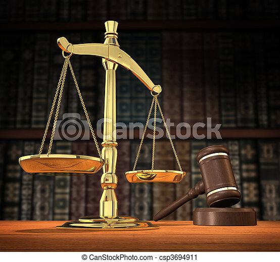 justiça, servido - csp3694911