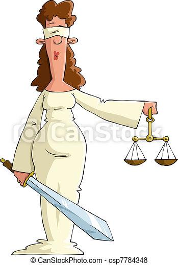 justiça - csp7784348