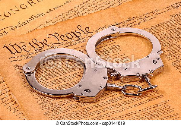 justice, américain - csp0141819