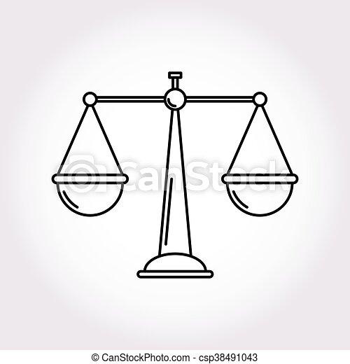 justice balance libra icon symbol logo modern style Justice Symbols Clip Art Gavel Clip Art