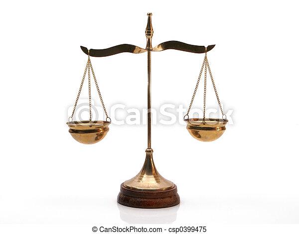 Justice Balance - csp0399475