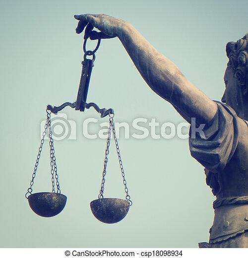 justice, balances - csp18098934