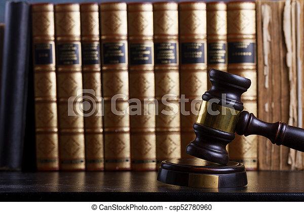 justice, concept, droit & loi - csp52780960