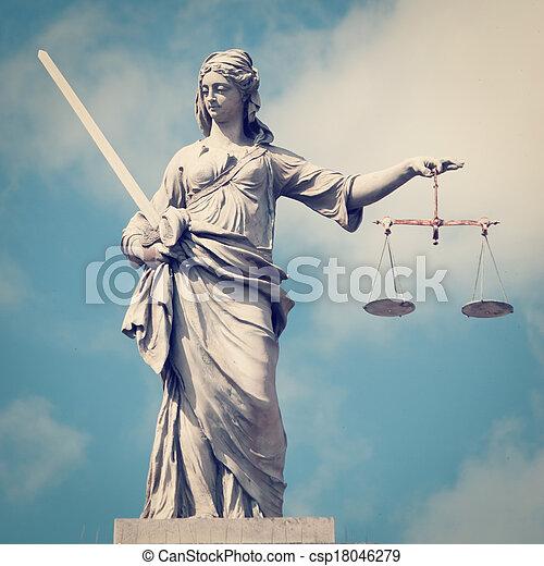 justice, dame - csp18046279