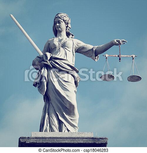 justice, dame - csp18046283
