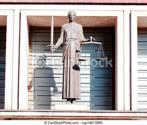 justice, dame, -, themis - csp14613990