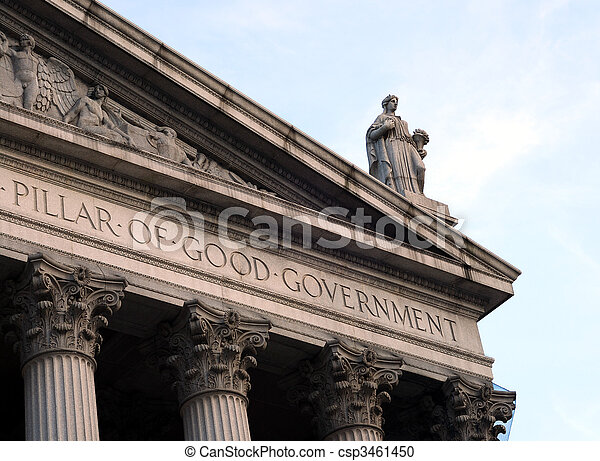 justice, maison, dame, tribunal, toit - csp3461450