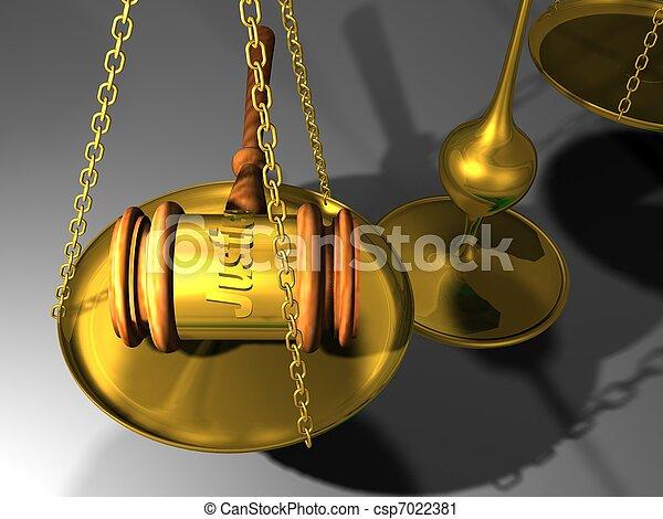 justice  - csp7022381
