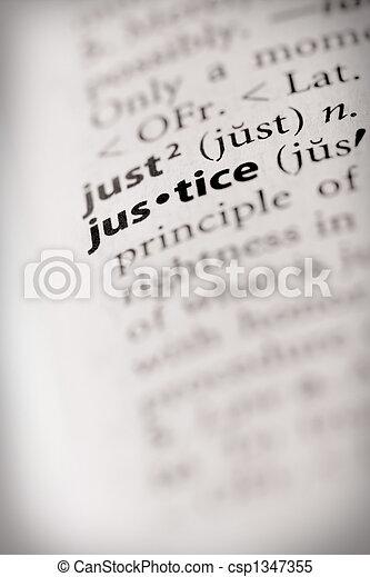Justice - csp1347355