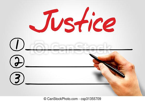 Justice - csp31355709