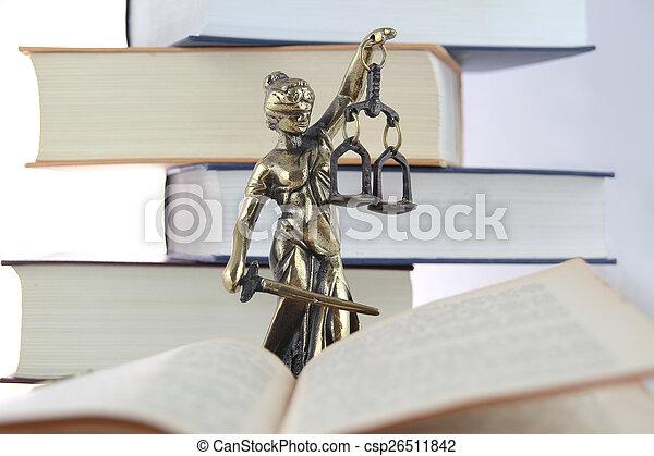 justice., symbole, droit & loi - csp26511842