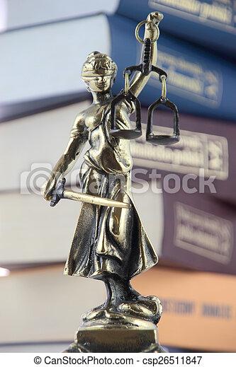 justice., symbole, droit & loi - csp26511847