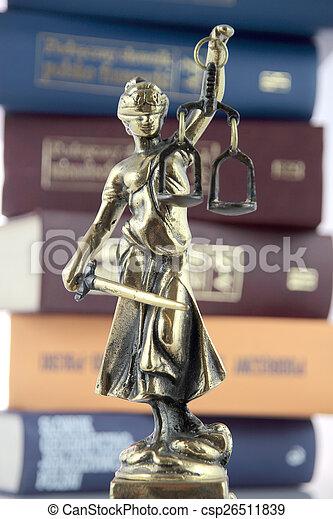 justice., symbole, droit & loi - csp26511839
