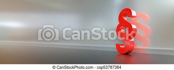justice, symbole, -, /, signe, paragraphe, droit & loi, section - csp53787384