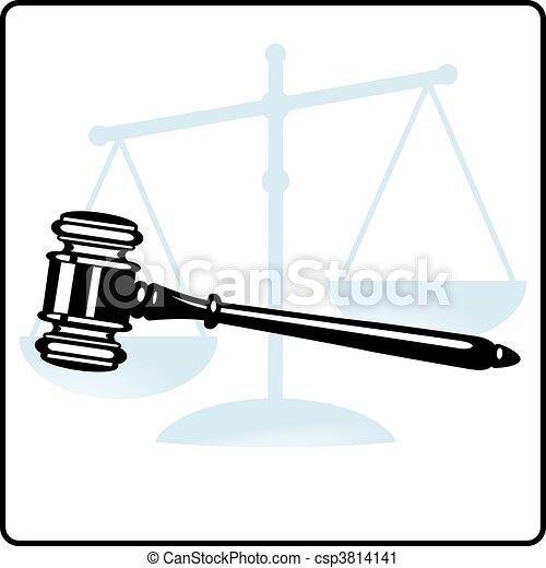 Desprendimiento de la justicia - csp3814141