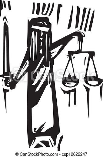 Justicia - csp12622247