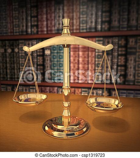 Escamas de justicia - csp1319723
