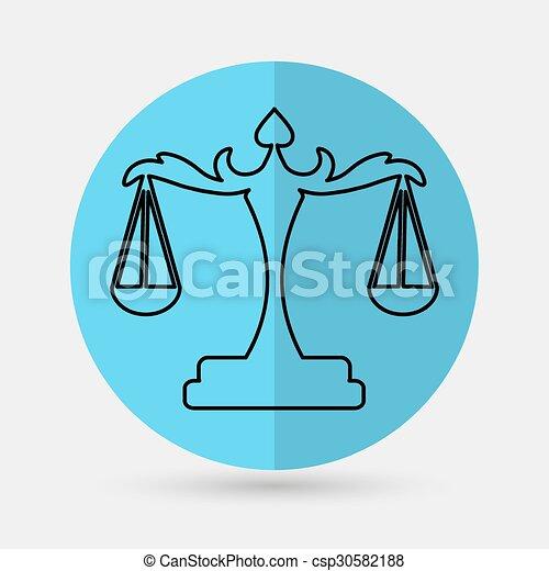 Escamas de justicia - csp30582188