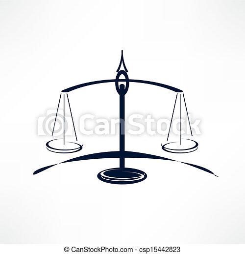 Escamas de justicia - csp15442823