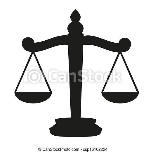 Escamas de justicia - csp16162224
