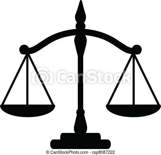 Escamas de justicia - csp8087222