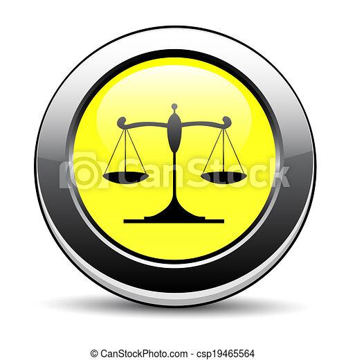 El icono de la justicia - csp19465564