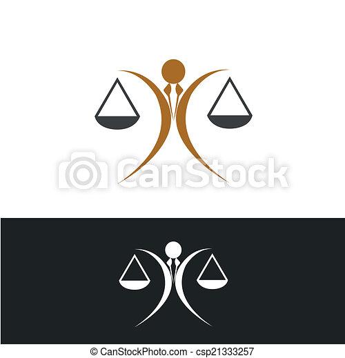 El icono de la justicia - csp21333257