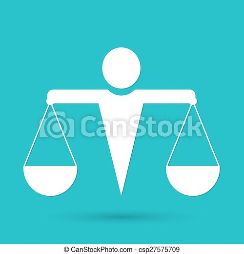 El icono de la justicia - csp27575709