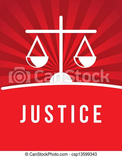Un icono de la justicia - csp13599343