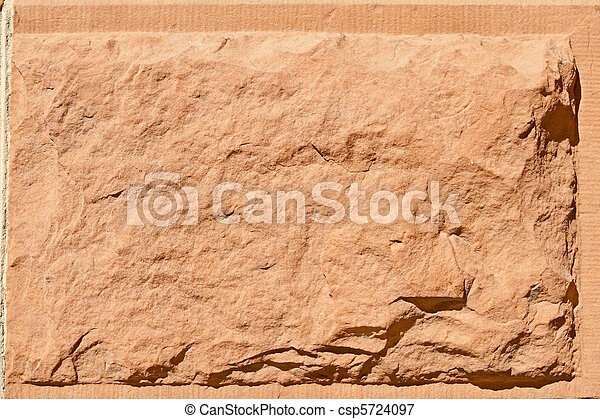 kámen, řezat, pískovec, vynořit se, venkovský, červeň, chlupatý, balvan - csp5724097